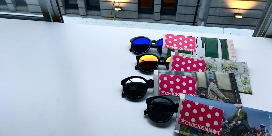 chickennot買いつけてきたメガネ&サングラスはボクお手製の専用ケースつけマス、の巻。 2015年10月19日 :CLOTHING